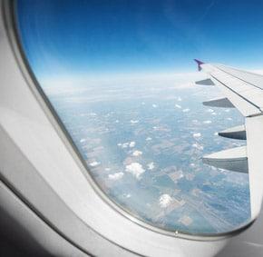 Vue aérienne hublot