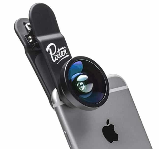 Objectif Pixter pour smartphones