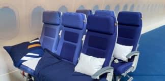 Lufthansa siège couchette
